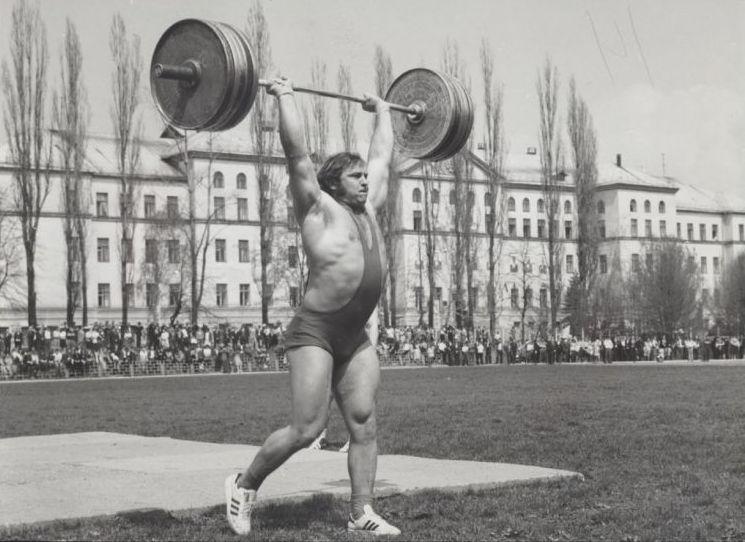 Виктор Налейкин - тяжелая атлетика