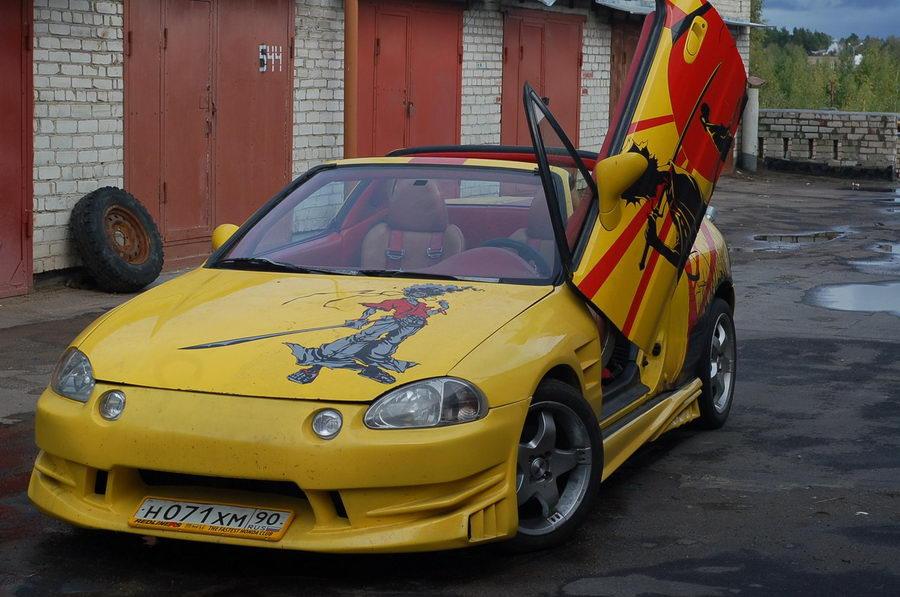Автомобиль Василия цветкова из Дубны