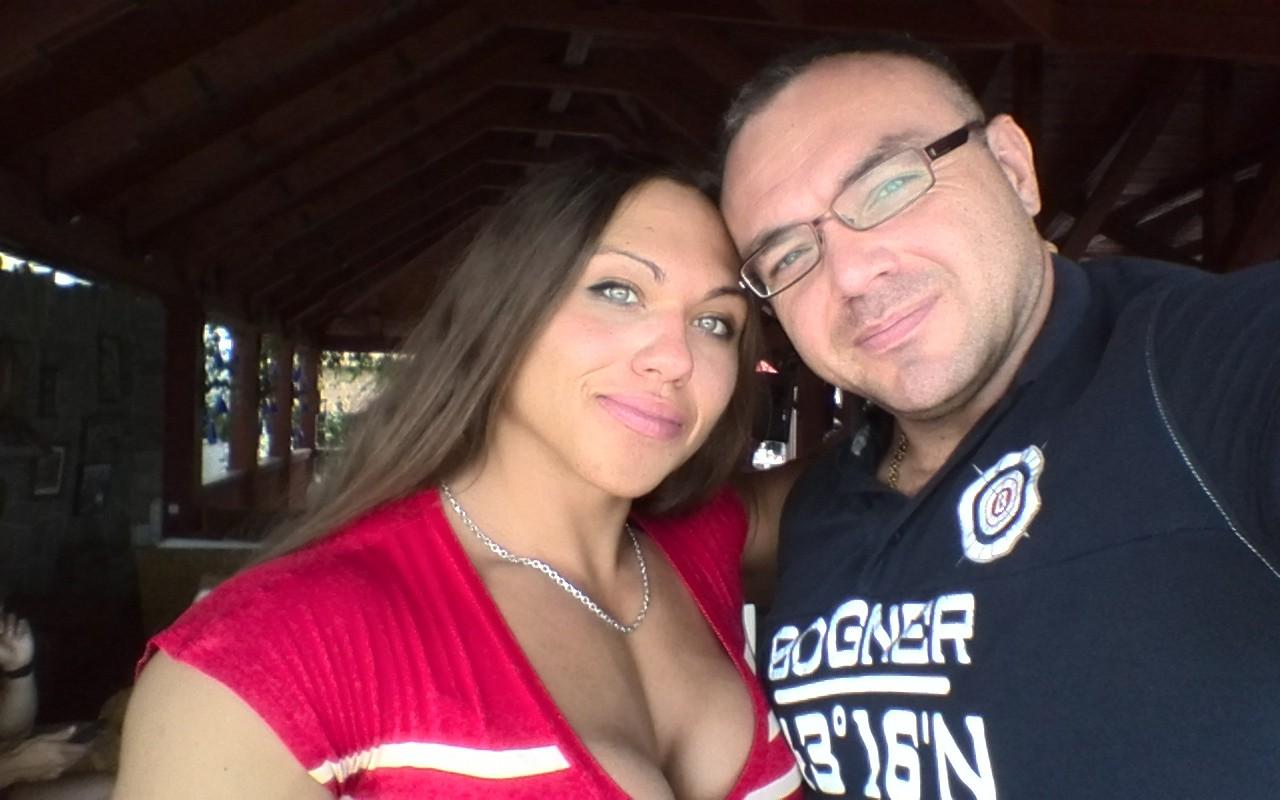 Трухина Наталья с мужем Владиславом