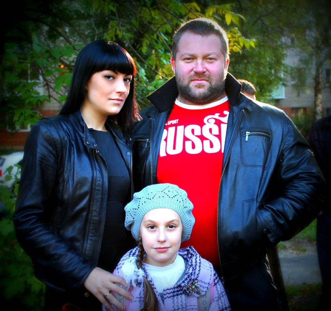 Клюшев Александр с семьей