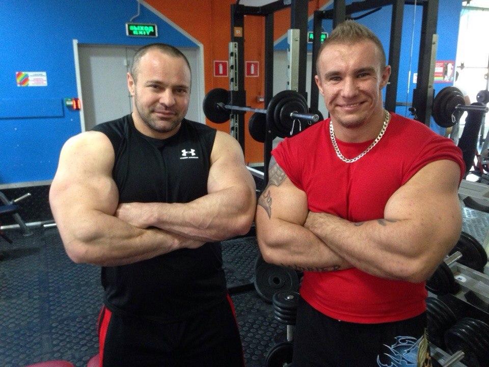Алибеков Мурад и Анатолий Сербин