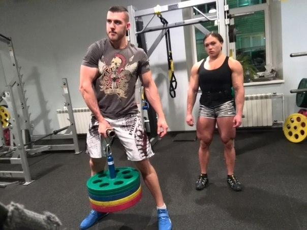 Трухина Наталья и Роман Пеньковский