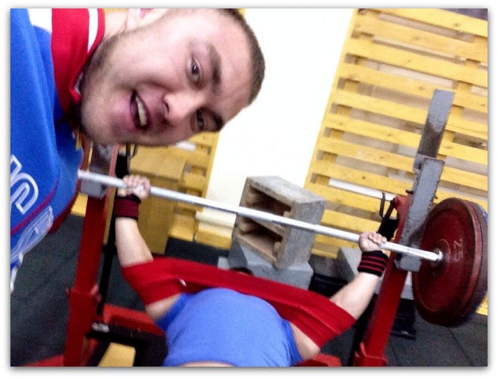 Тренировка Виктора Фуражкина
