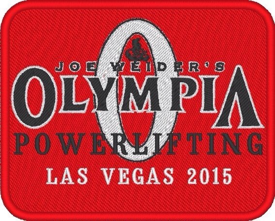 Логотип olympia powerlifting