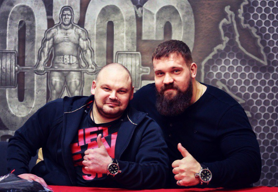 Кирилл Сарычев и Сергеи Длужневскии