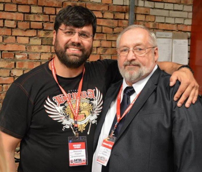 Борис Иванович Шеико и Андреи Федосеев