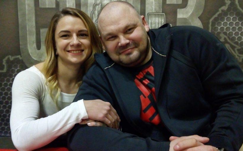 Оксана Кузнецова и Сергей Длужневский