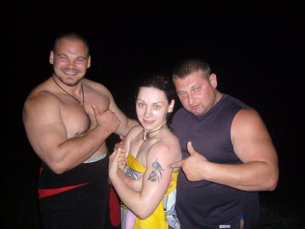 Сергей Длужневский, Наталья Ловцова и Николай Гук