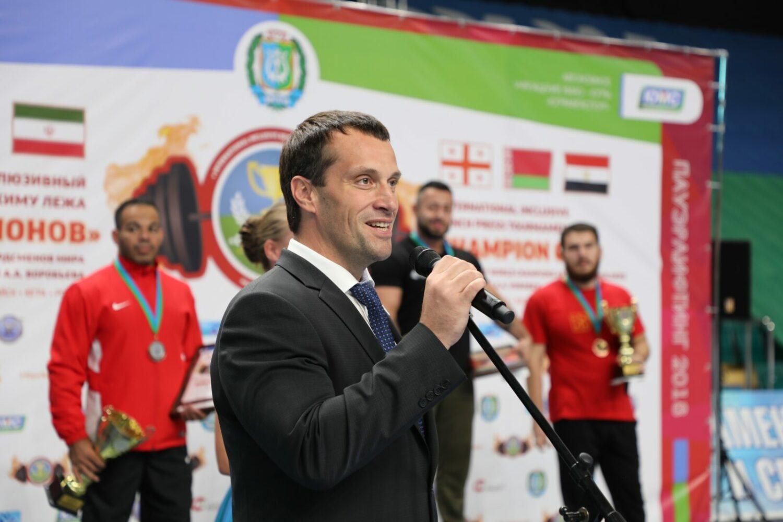 Эдуард Исаков на турнире Кубок чемпионов 2018