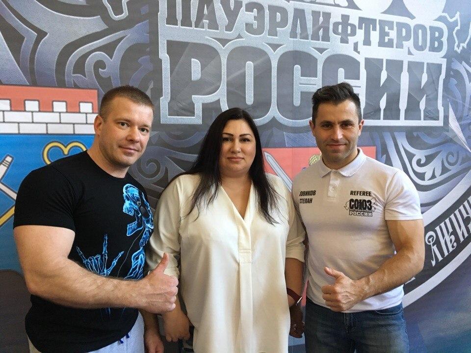 Сергей Сурков, Эльвира Длужневская и Степан Новиков