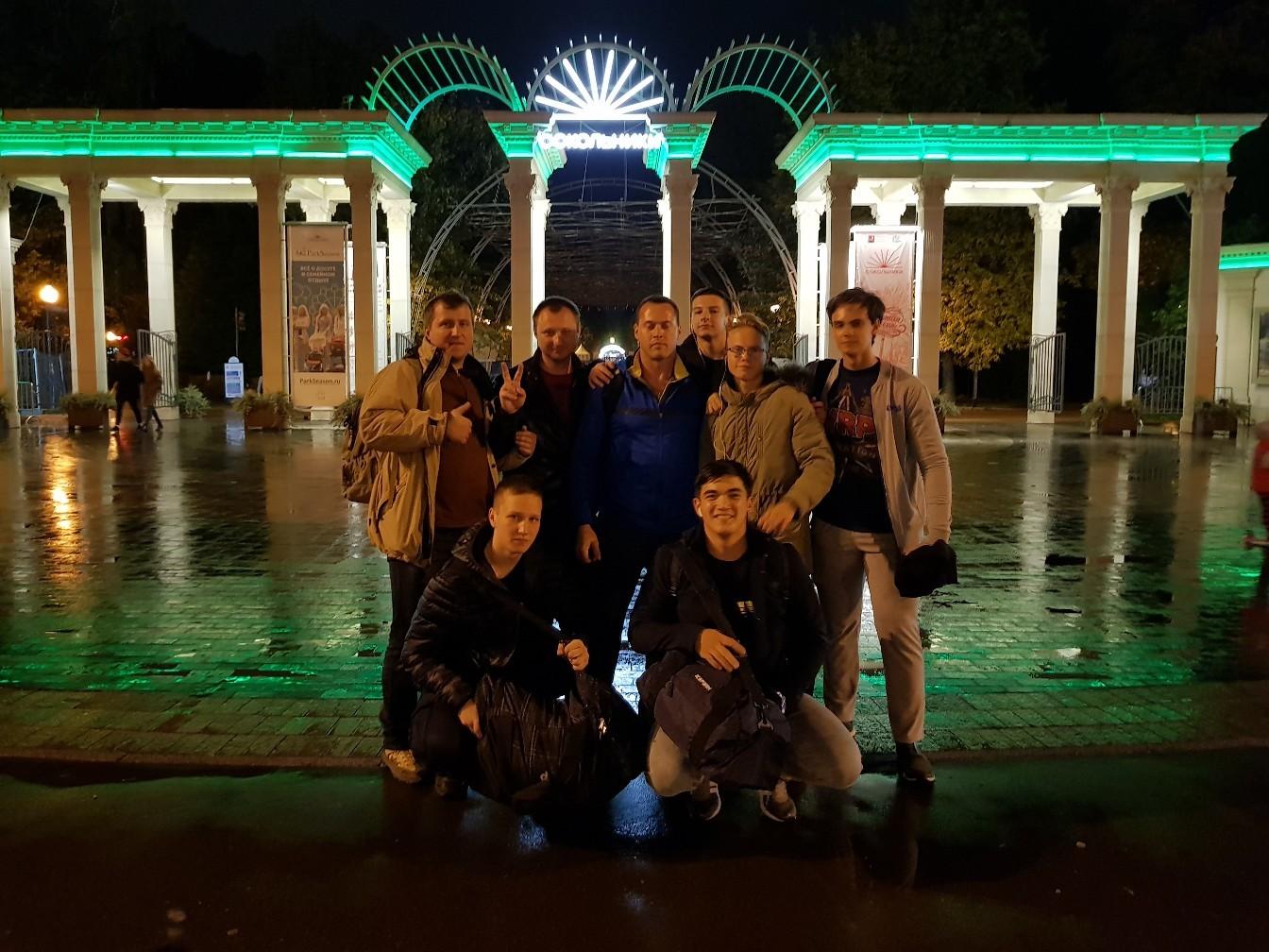 Команда и капитан Андрей Айвазов