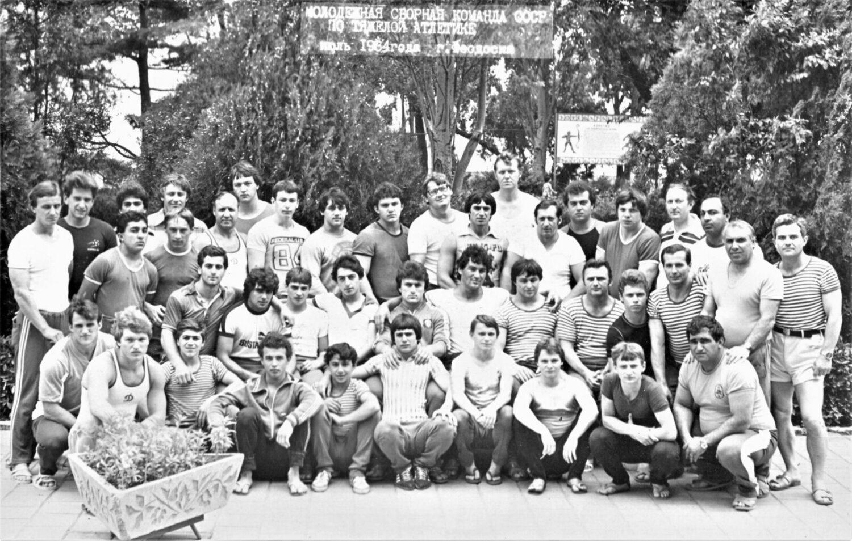 Молодежная сборная команда СССР – июль 1984 года, Феодосия