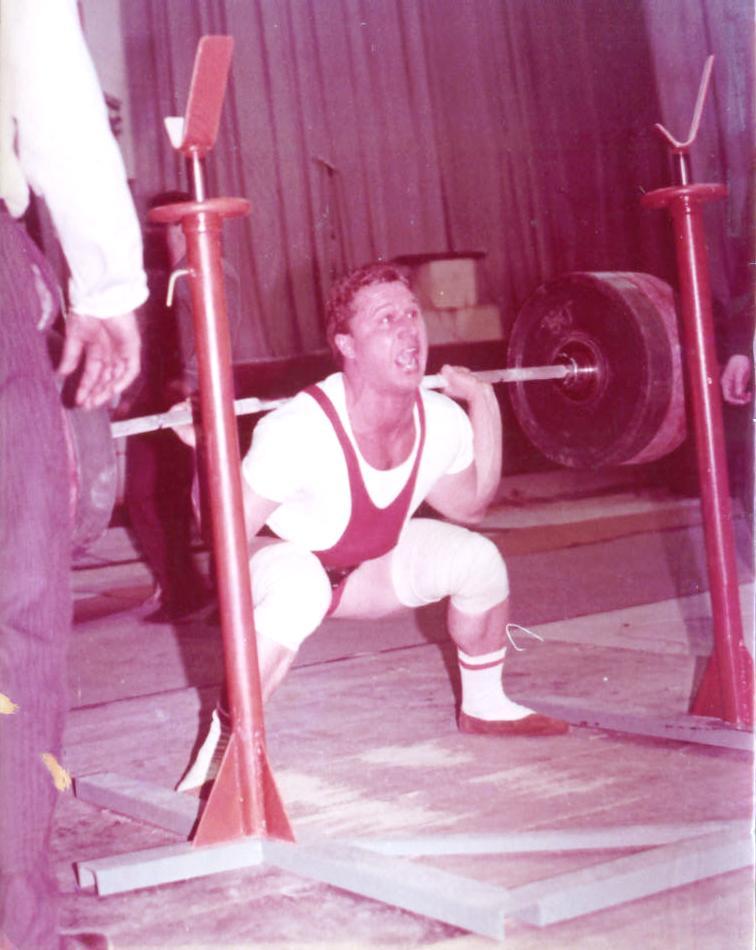 Мастер спорта Юрий Черданцев