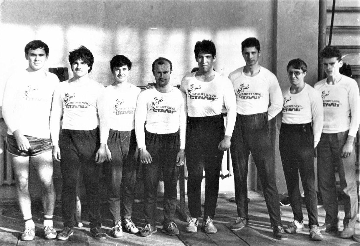 Спортсмены спортклуба «Сталь»