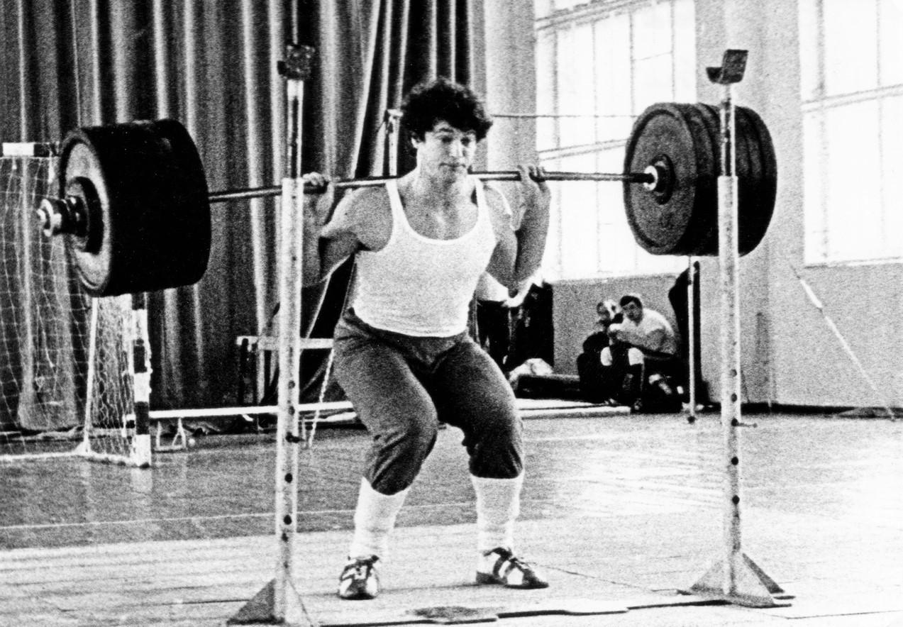 Мастер спорта СССР по тяжелой атлетике Сергей Вислоцкий(Фото из архива С. Вислоцкого)