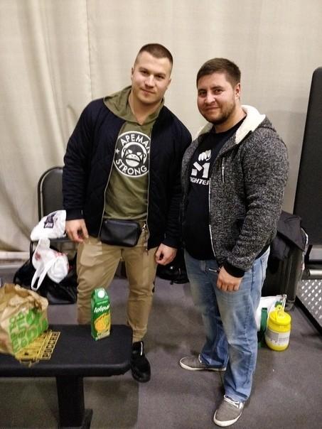 Юрий Белкин и Денис Богатырев