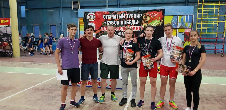 Команда Витязь и Андрей Айвазов