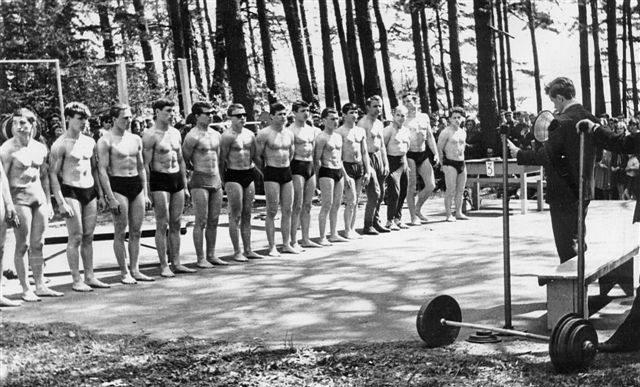 Представление участников конкурса (Фото из архива А. Петрайтиса)