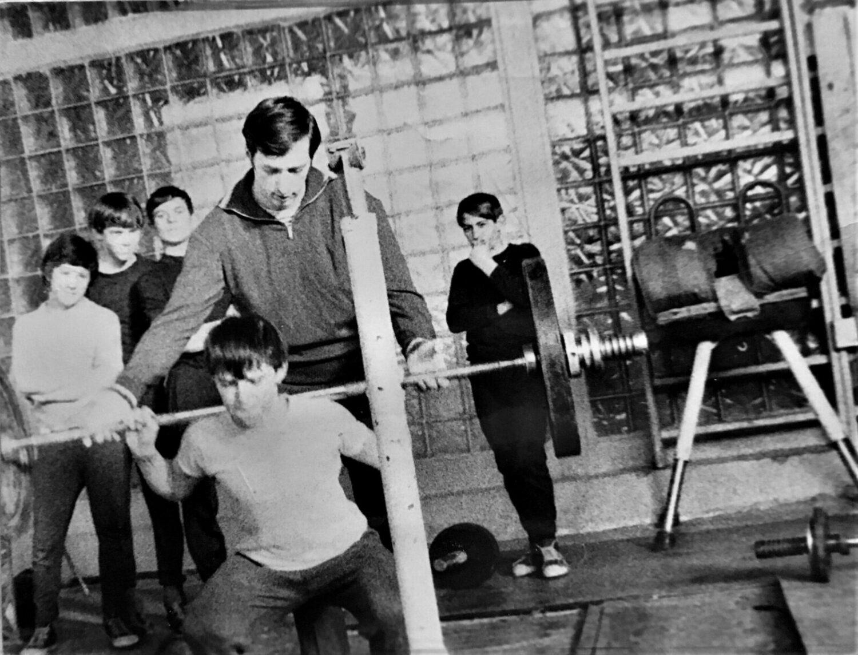 Октябрь 1975 год, ученики первого набора