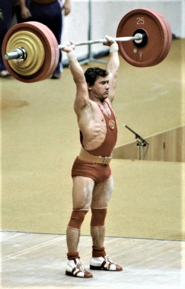 В. Мазин на Олимпиаде