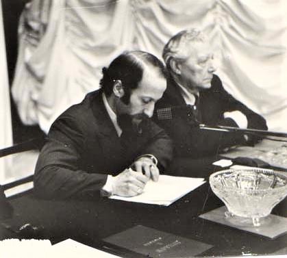 Е.И. Колтун (Тюмень) и Р.П. Мороз (Москва) (фото из личного архива Е.И. Колтуна)