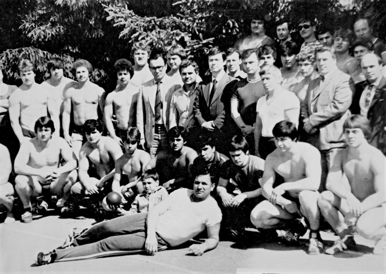Молодежная сборная СССР, август 1984 года, Подольск
