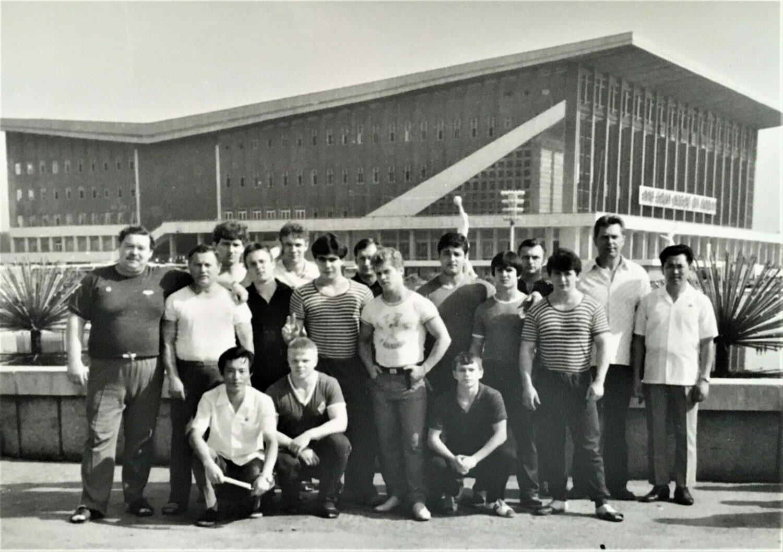 Молодежная сборная СССР в Улан-Баторе, 1984 год