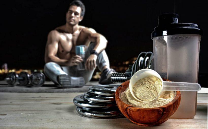 Спорт и протеин