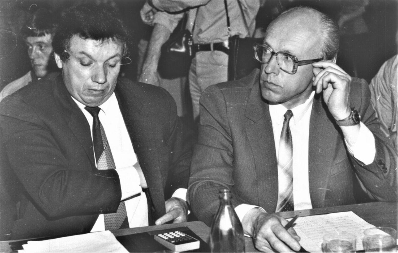 В.С. Чайковский и Р.В. Калинаускас