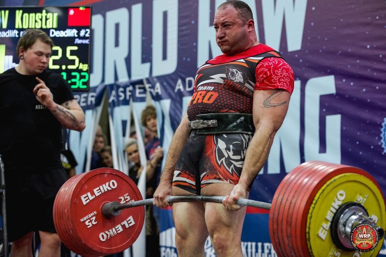 Морозов Константин и его тяга 412,5 кг