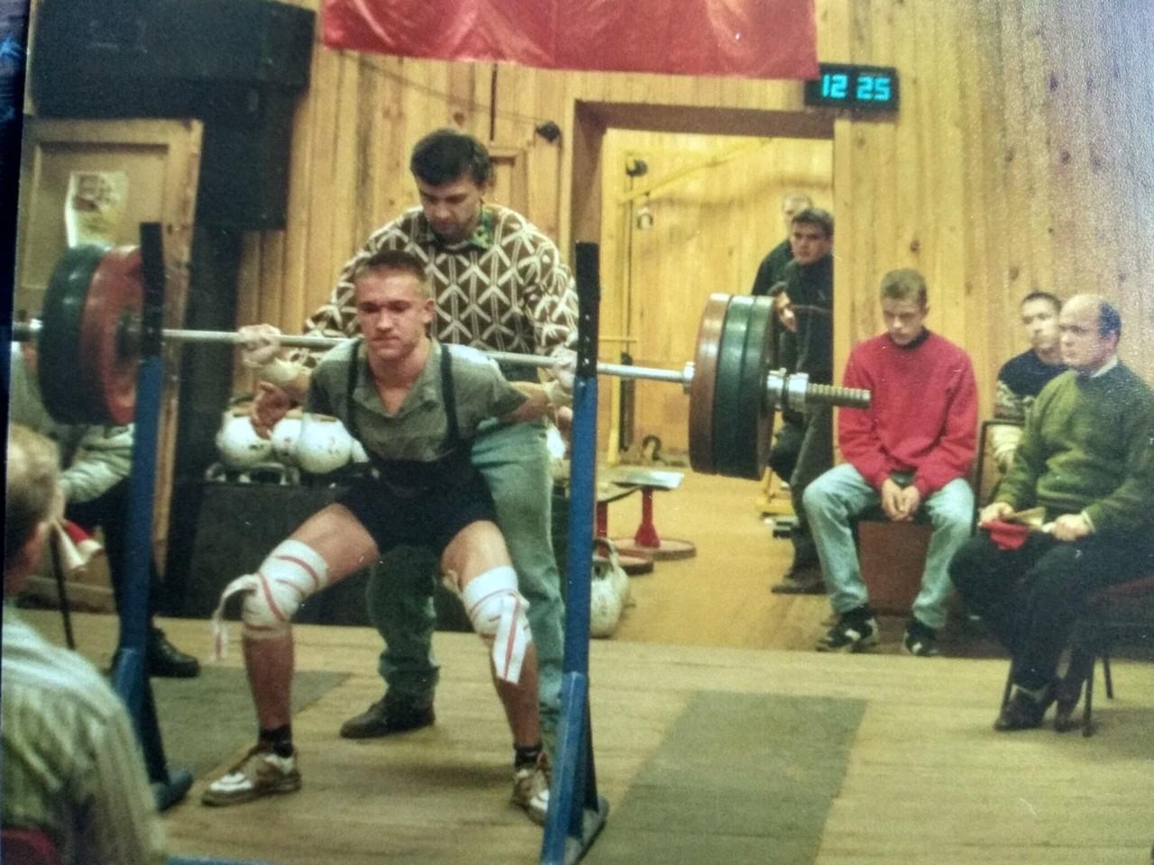 Начало пути в пауэрлифтинге Олега Рябинникова