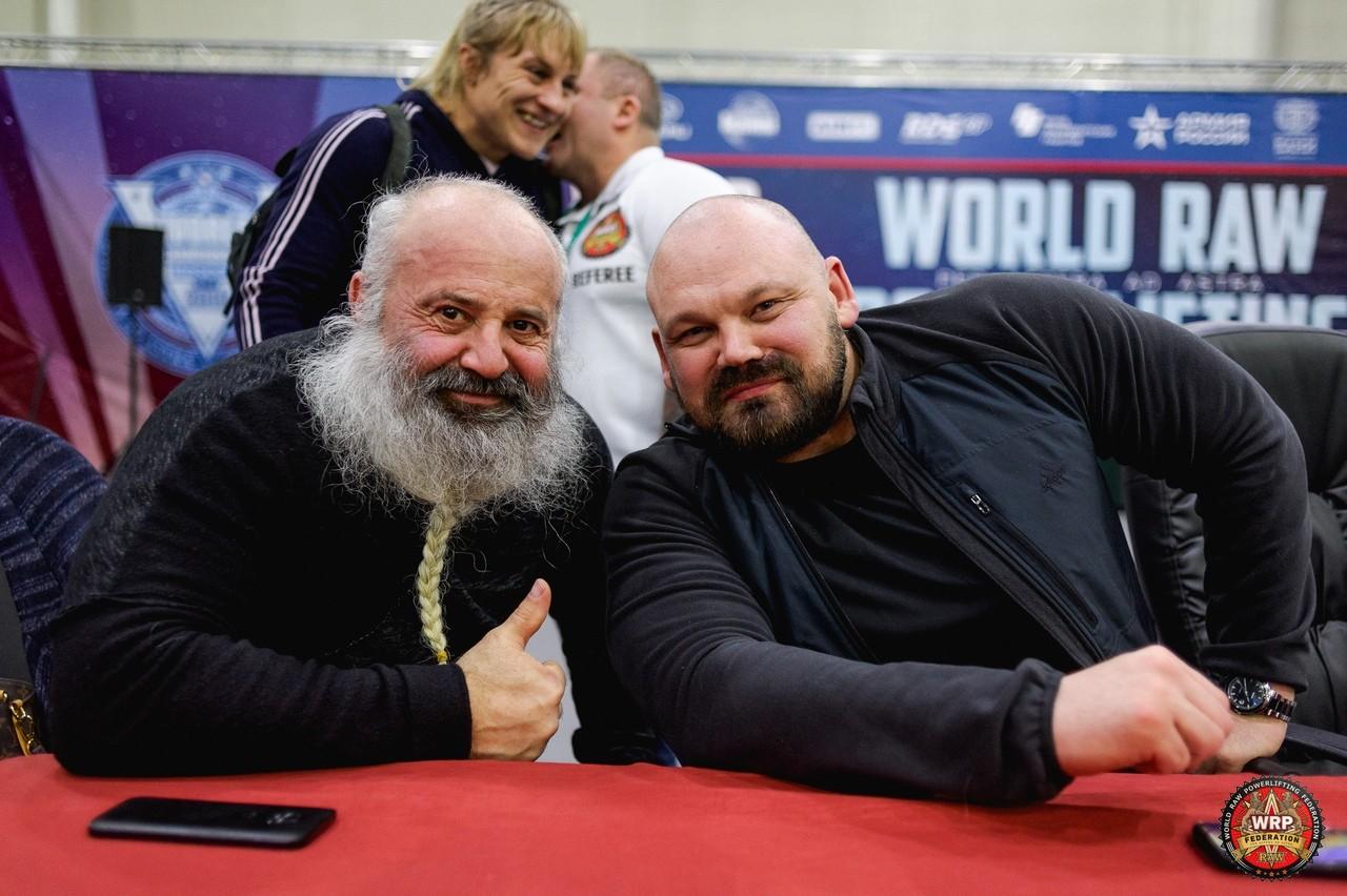 Чемпионат мира WRPF 2019 - Андрей Палей и Сергей Длужневский