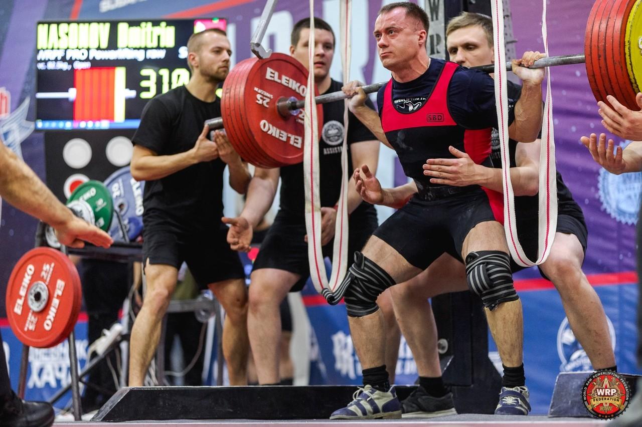 Чемпионат мира WRPF 2019 и Насонов Дмитрий
