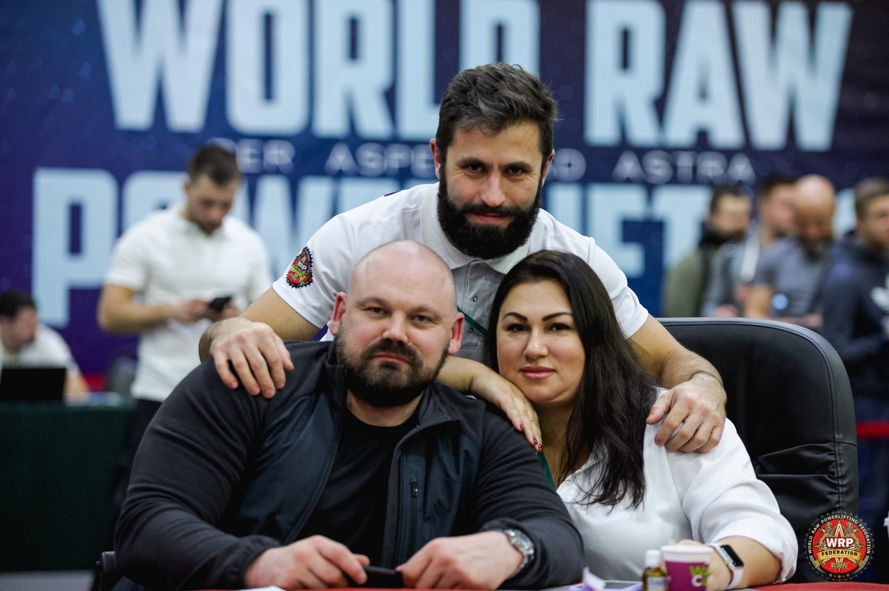 Длужневские и Новиков - Чемпионат мира WRPF 2019