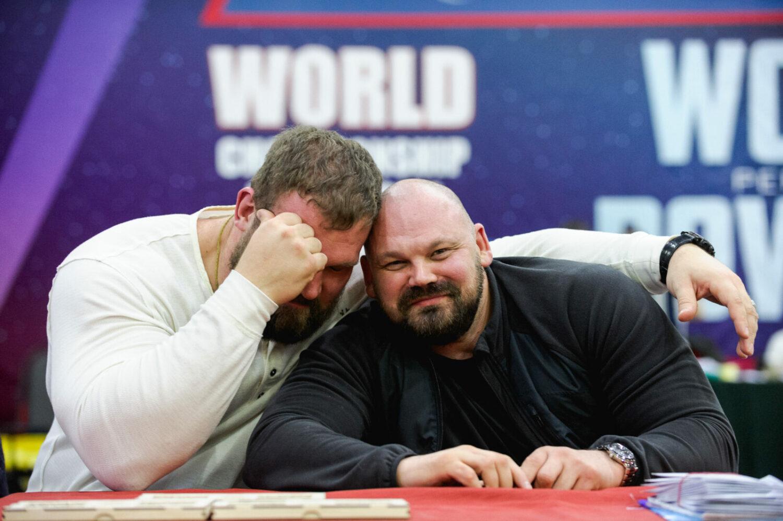 Чемпионат мира WRPF 2019 - Кирилл Сарычев и Сергей Длужневский