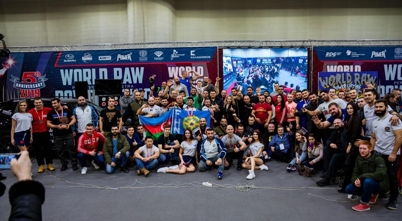 Чемпионат мира WRPF 2019 - фотография на память
