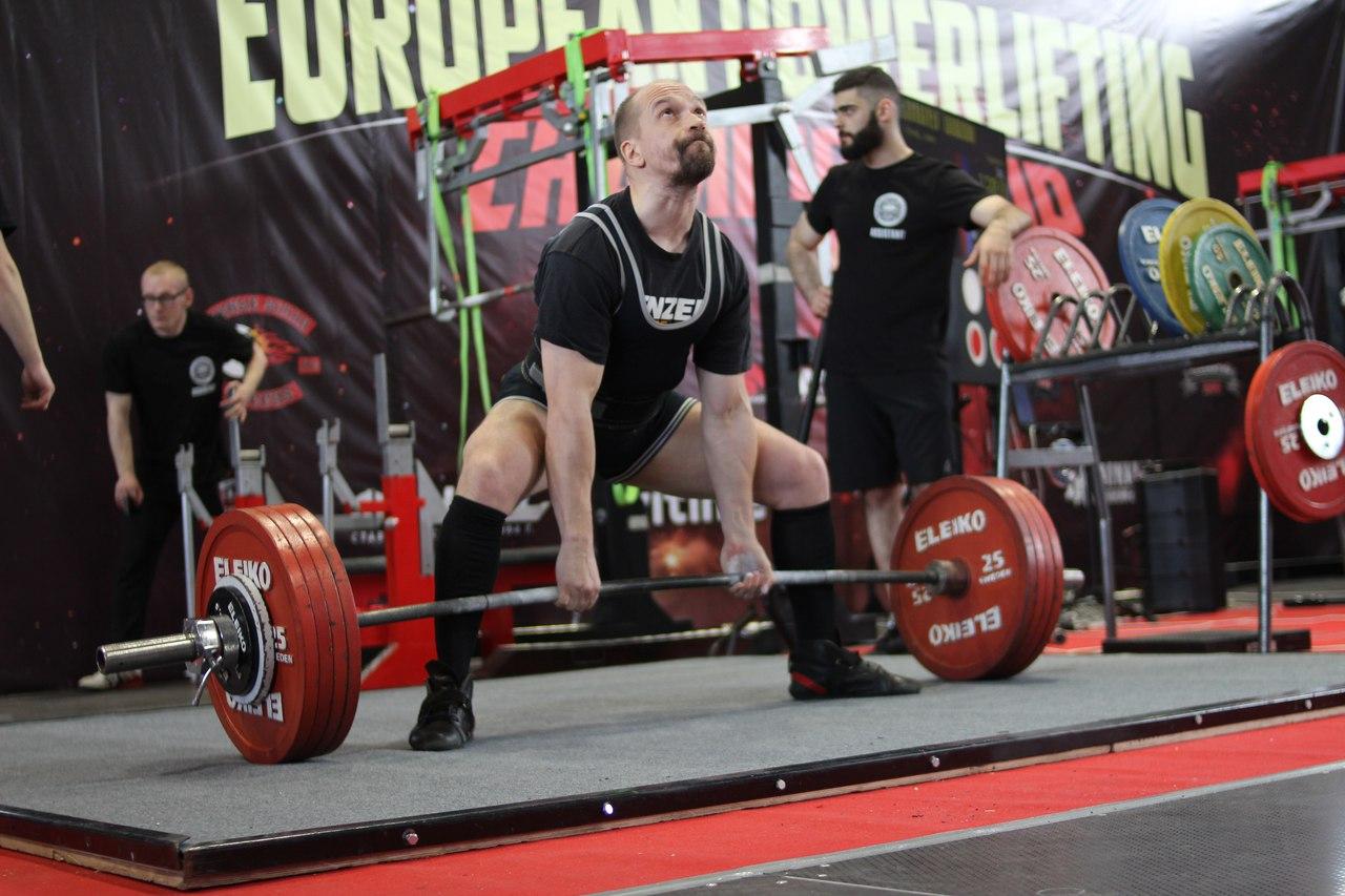 Тяга на Чемпионате Европы WRPF 2018