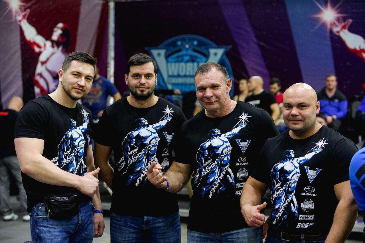 Чемпионат мира WRPF 2019 - команда