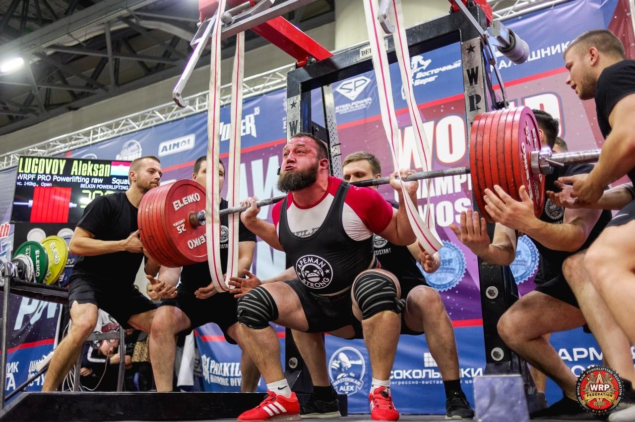 Александр Луговой / Чемпионат мира WRPF 2019