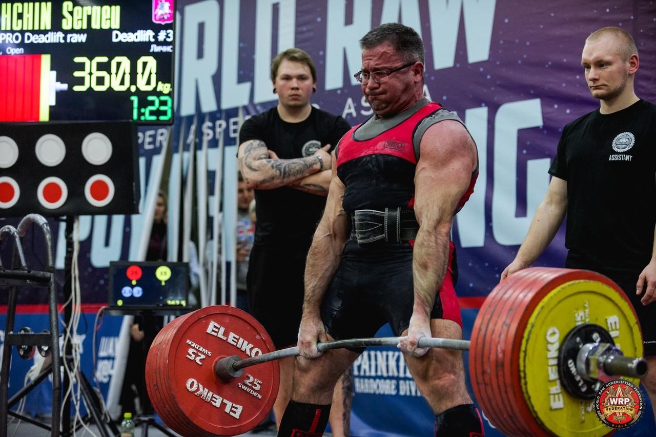 Сергей Гущин на Чемпионате мира WRPF 2019